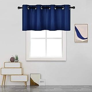 starlit Fashion Solid Color Glass Yarn Sheer Window Valance Curtain Bedroom Home Wedding Decor Black