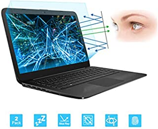 "FORITO 2-Pack Eye Protection 14"" Laptop Anti Blue Light Anti Glare Screen Protector for Acer Chromebook 14 /HP Chromebook 14 /Dell Latitude 14 /HP Stream 14 /Lenovo Thinkpad 14(Size: 310mm x 174mm)"