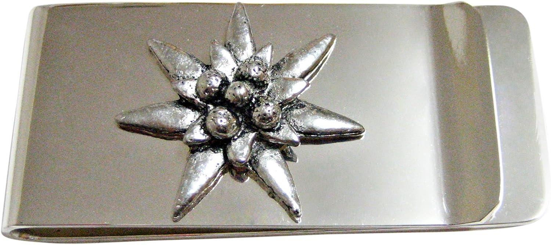Edelweiss Flower Money Clip