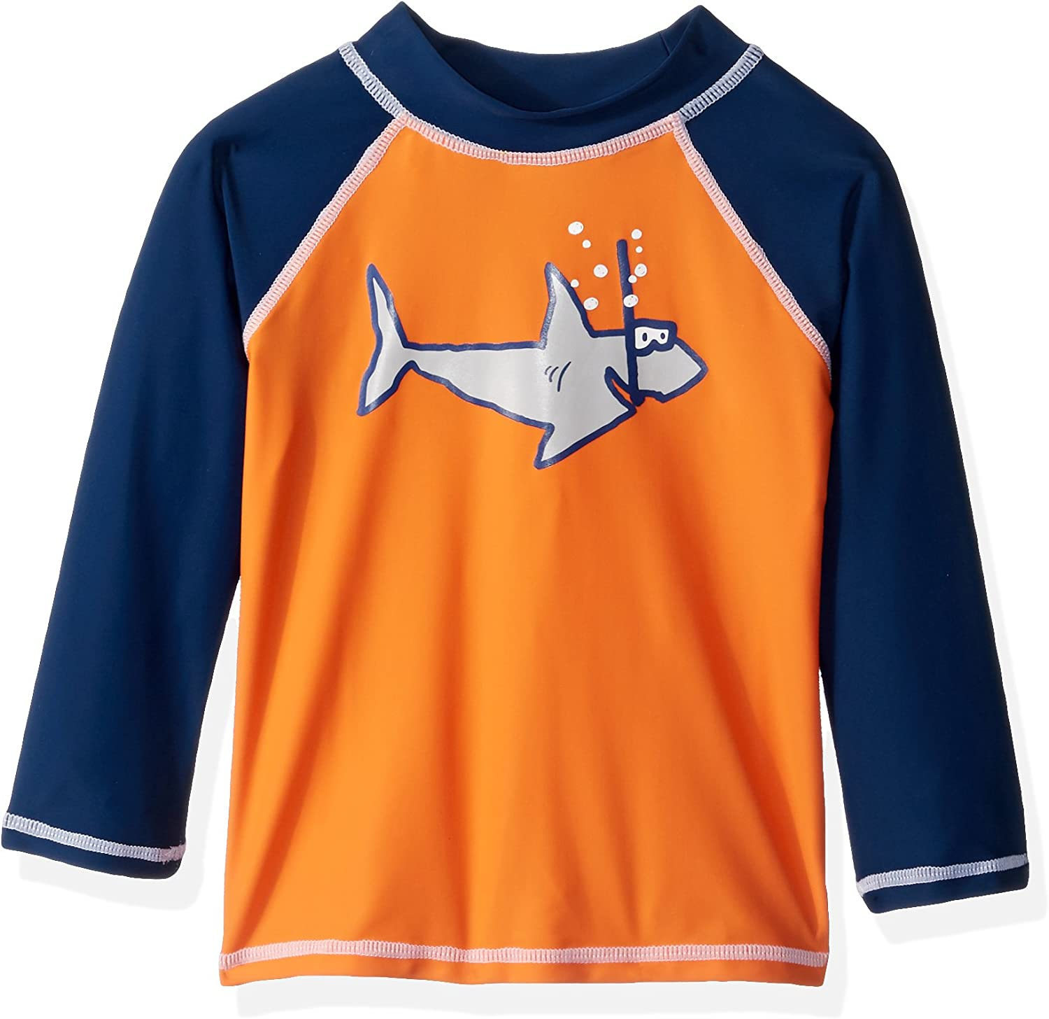 Flap Happy Boys Toddler UPF 50 Graphic Rash Guard Swim Top