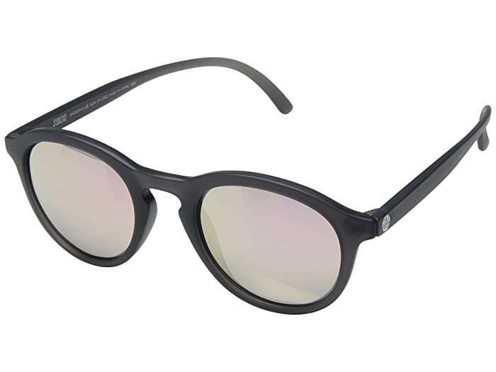 Sunski Singlefins Lifestyle Collection (Grey/Rose) Sport Sunglasses
