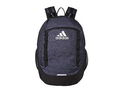 adidas Excel V Backpack (Jersey Black/Black) Backpack Bags
