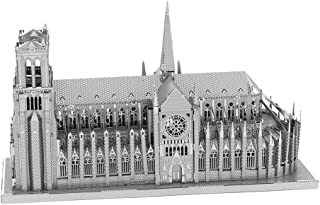 Fascinations ICONX Notre Dame Cathedral 3D Metal Model Kit