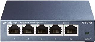TP-Link 5ポート スイッチングハブ 10/100/1000Mbps ギガビット 金属筺体 設定不要 ライフタイム保証 TL-SG105V5.0