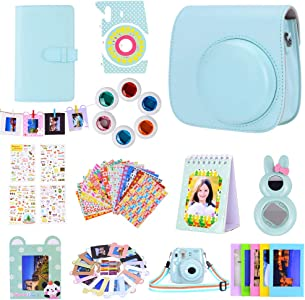Bsuuy Instax Mini Camera Accessories Set for Fujifilm Instax Mini Mini...