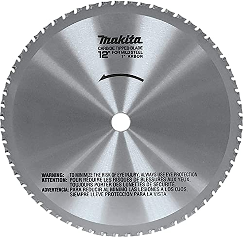 popular Makita A-90532 12-Inch 60-Teeth high quality Dry Ferrous Metal Cutting Saw Blade with lowest 1-Inch Arbor , Silver online sale