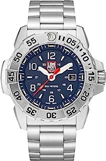 Luminox Mens Wrist Watch Navy Seal Steel 3254: 45mm Blue Dial Stainless Steel 200 M Water Resistant