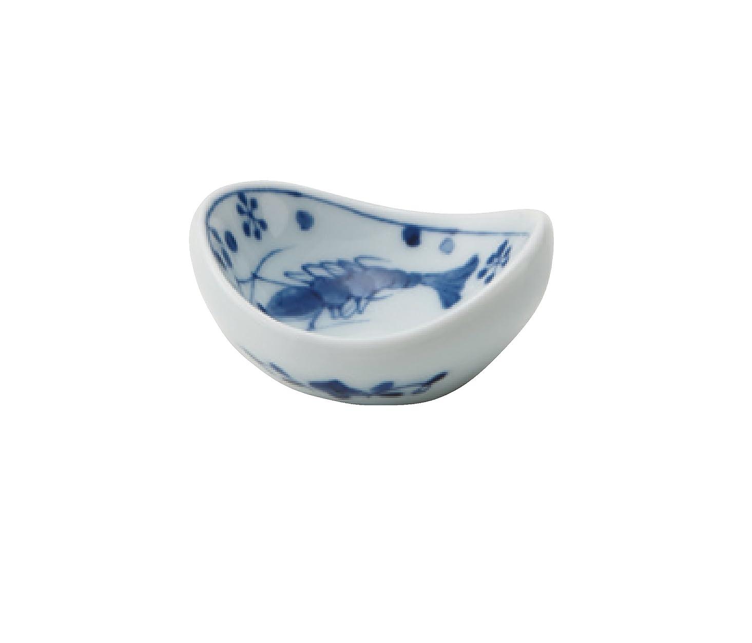 囲む展示会検出するエビ 豆小鉢[φ5.5×5cm] 2ヶセット EBIMAME-2