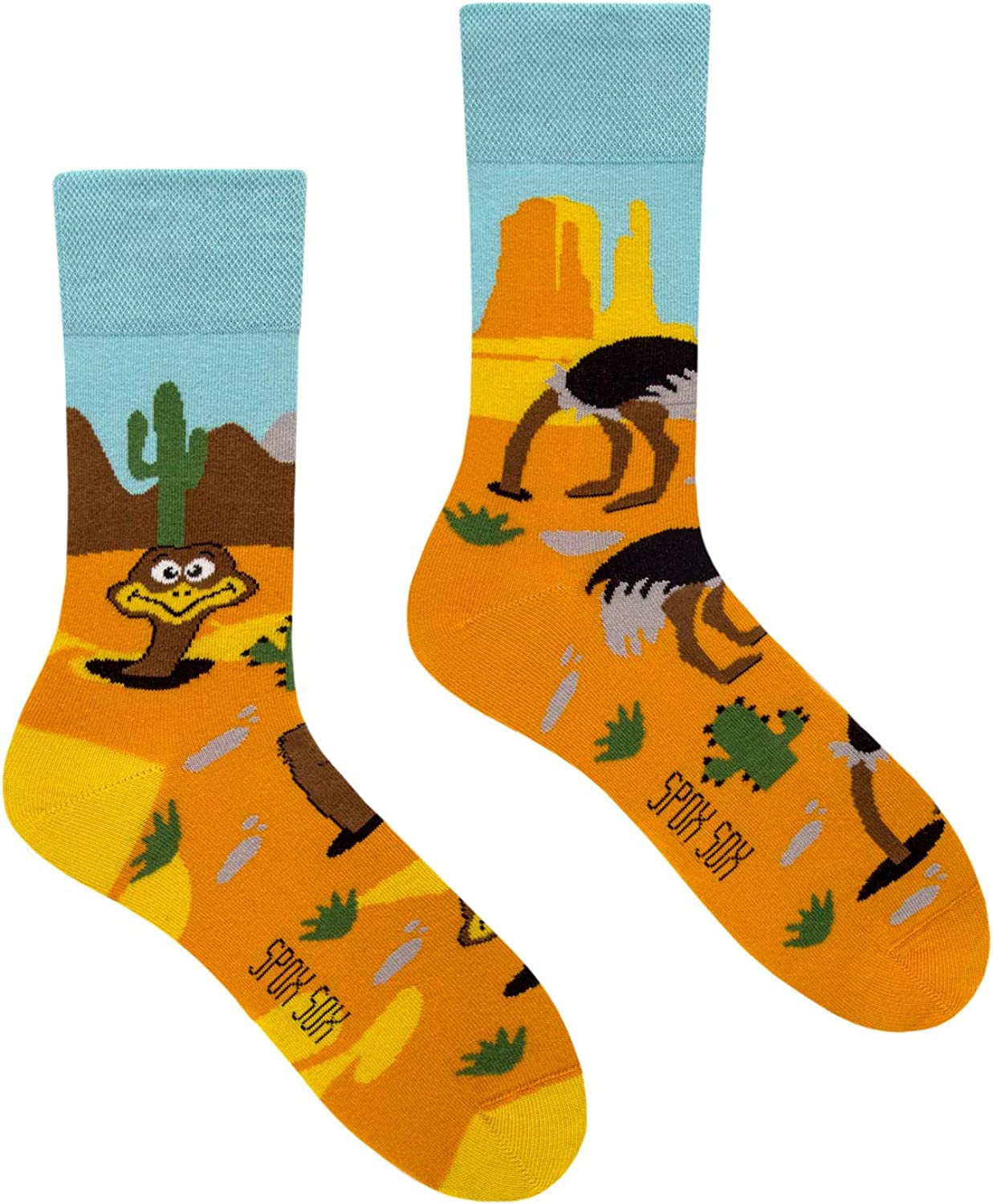 Spox Sox Casual Unisex - colourful novelty Bargain sale socks indiv High order funny for