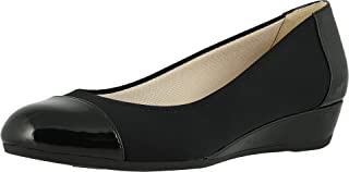LifeStride womens Felina Loafer, Black, 7 US