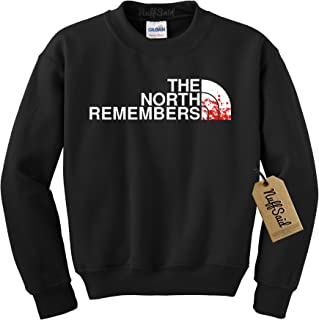 NuffSaid The North Remembers GOT Thrones Crewneck Sweatshirt Sweater - Unisex