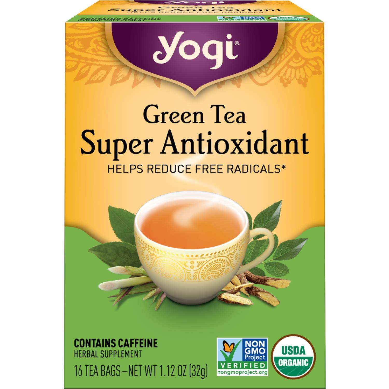 Yogi Tea - depot Green Super Max 71% OFF Pack 6 Antioxidant Organic
