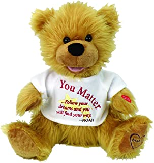 Kelli's Shop Chantilly Lane Noah Bear - You Matter by (G1071), Multi Color