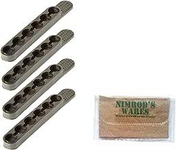 Nimrod's Wares Bianchi .44 .45 Speed Strips x 4 6 Rounds #580 Microfiber Cloth