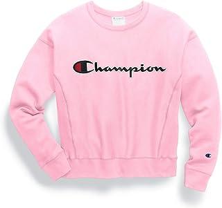 طاقم النسيج العكسي للنساء من Champion، تطريز السلسلة