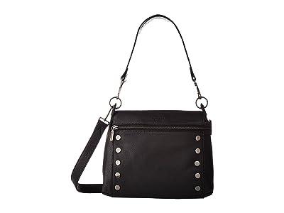 Hammitt Bryant Medium (Black/Gunmetal) Handbags