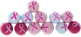 Fun Express Pink Ribbon Breast Cancer Awareness Stress Balls - 12 Pieces