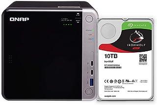 QNAP Pre-configured TS-453BT3-8G-410R-US 4-Bay Thunderbolt 3 NAS with 40TB Raw Capacity. Pre-configured with Four 10TB NAS HDD (RAID5)