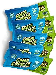 Green Gobbler Drain Opening PAC'S - 8.25 oz 5 Pack. Best Drain Cleaner and Drain Opener, Best Clog Remover, Hair Grabber Tool,