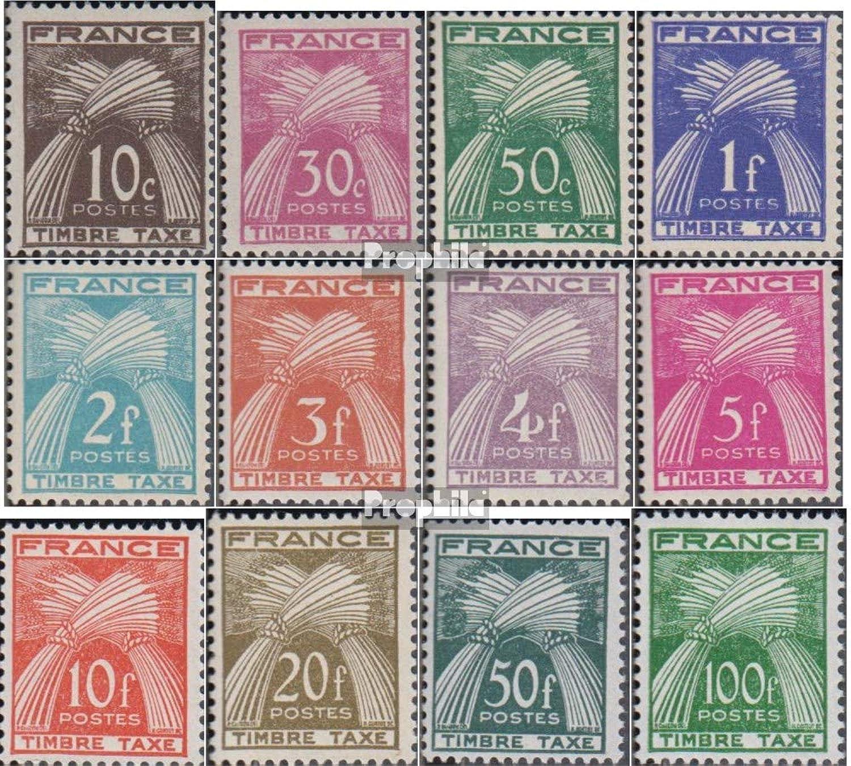 Obtén lo ultimo Prophila Collection Collection Collection Francia p81-p92 (Completa.edición.) 1946 Los Sellos de Correos (Sellos para los coleccionistas)  precio razonable