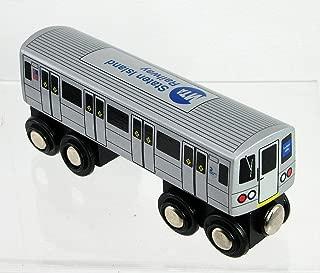 Munipals Staten Island Railway St. George - Tottenville Wooden Toy Train