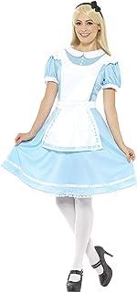 Smiffy Wonder Princess Costume, Multi Colour, Wonder Princess Costume, Blue with Dress, Apron & Headband, XS Bust32.5 33....