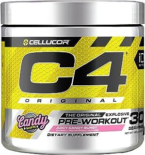 Cellucor C4 Original Pre Workout Powder JuIcy Candy Burst | Sugar Free Preworkout Energy Supplement for Men & Women | 150m...