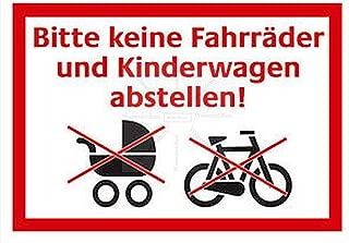Klebe-Folie Wetterfest Made-IN-Germany Absolutes Halteverbot kein Parken Parkplatz Ausfahrt freihalten Privat S005 UV/&Kratzfest Profi-Qualit/ät! Sticker-Designs 20cm