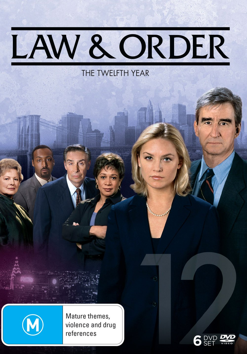 Law and Order Today's only Season 12 6 Regio PAL NON-USA Format Discs Manufacturer direct delivery