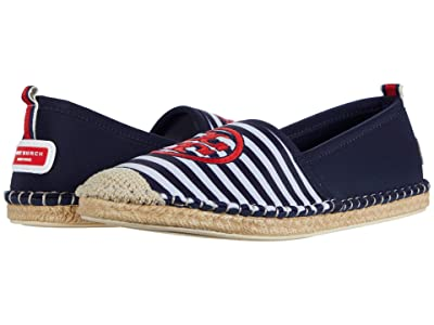 Tory Burch Tory Water Espadrille (Perfect Navy/New Ivory) Women