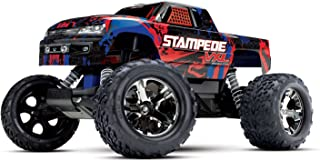 Traxxas Stampede Vxl 2WD Brushless Monster Truck, Red
