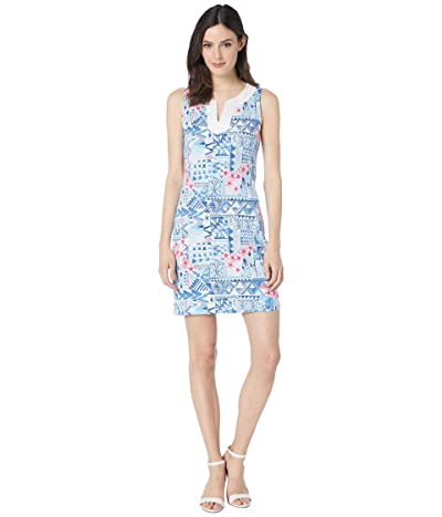 Tommy Bahama Patio Leis Sleeveless Dress (Island Navy) Women
