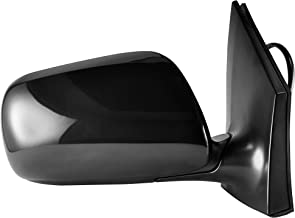 Passenger Side Power Operated, Non-Heated, Unpainted Side View Mirror for 2009-2013 Toyota Corolla - Parts Link #: TO1321249