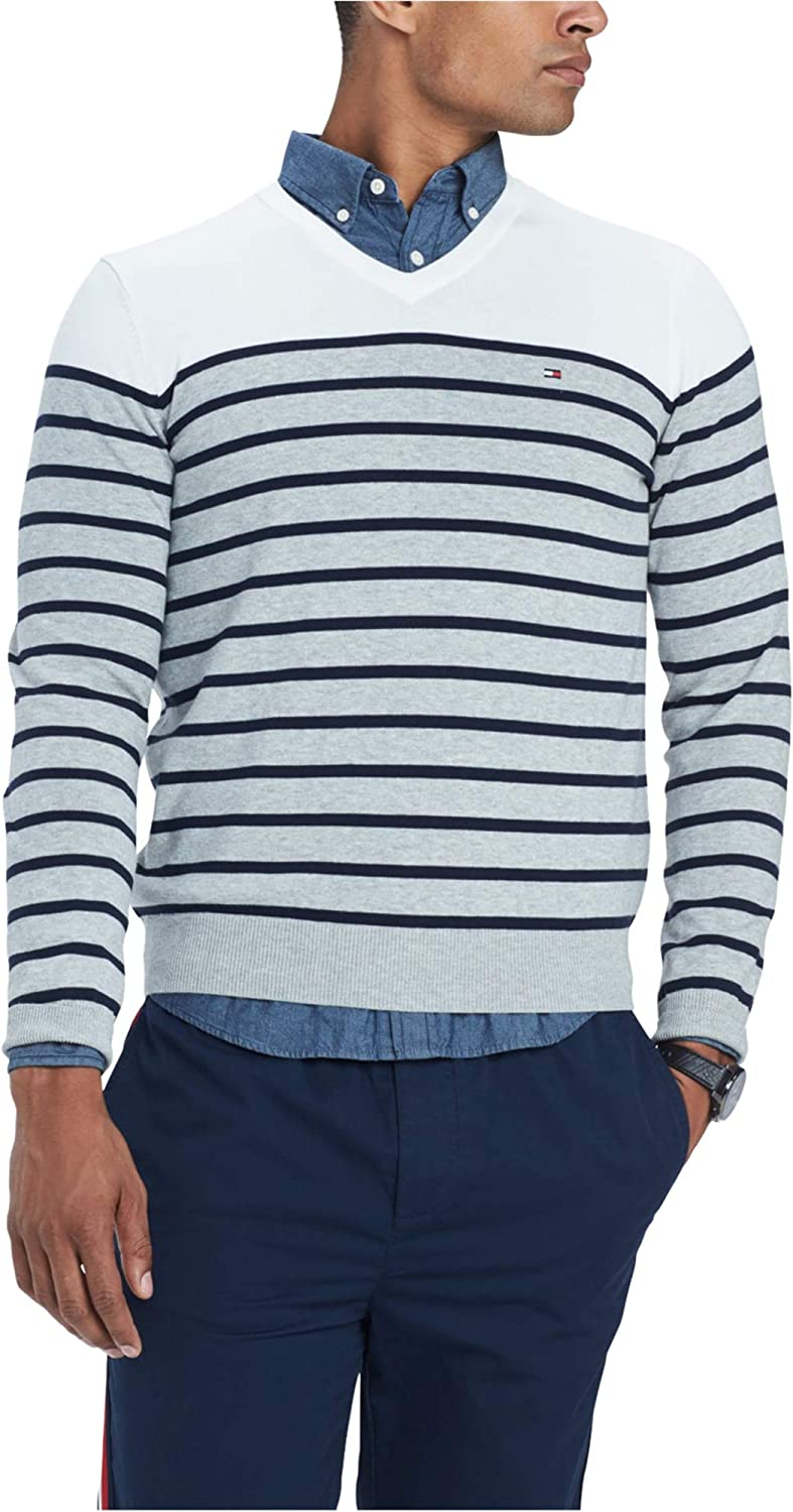 Tommy Hilfiger Mens Max 81% OFF Signature Coast Sweater Pullover Tucson Mall