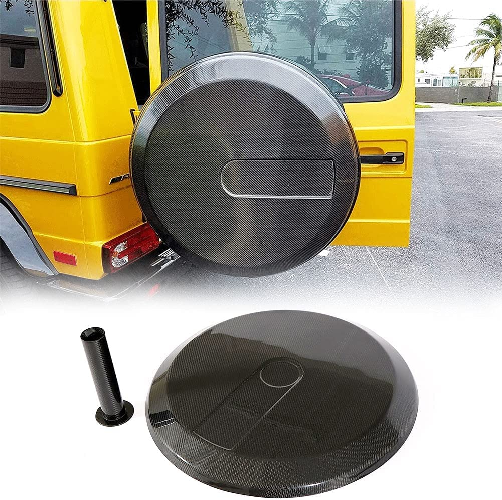 MCARCAR KIT Carbon Phoenix Mall Fiber Spare Wheel for San Francisco Mall Tire Fits Cover Mercede