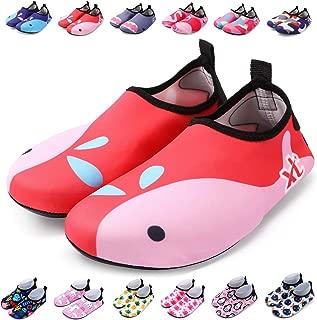 Kids Water Shoes Toddler Swim Shoes Quick Dry Non-Slip Barefoot Aqua Socks for Beach Pool