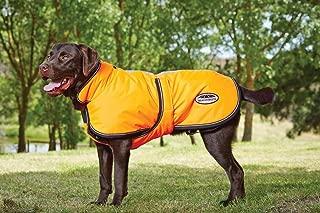Weatherbeeta Reflective Parka 300D Deluxe Dog Coat Orange 30