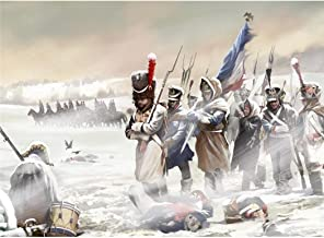 Cossacks 2 Napoleonic Wars Poster by Silk Printing # Size about (48cm x 35cm, 19inch x 14inch) # Unique Gift # 7F3955