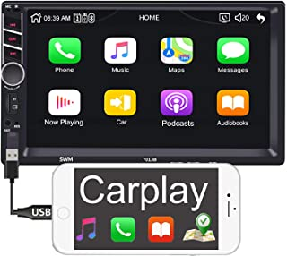 """Binize 7 inch Touchscreen Stereo with Apple Carplay MP5 Player 7"""" Car Stereo Radio Receiver/Audio Player/Bluetooth/FM,Supp... photo"""