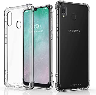 HYPHEN Crystal Clear Drop Protection Back Cover Case for SAMSUNG GALAXY A30s