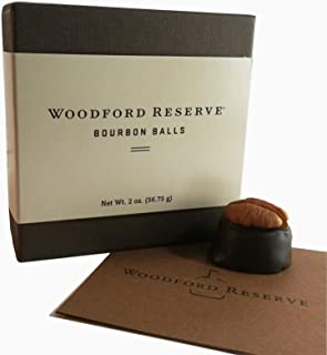4 Woodford Reserve Bourbon Ball Gift Boxes: 4 pc in each (16 candies)