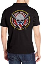 Uncle Sam's Misguided Children Men's Short Sleeve (Back Print) Polo T-Shirt