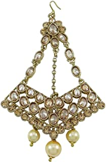 Hair Accessory Hijab Jhoomar Passa Tikka Jewelry Gift for Women
