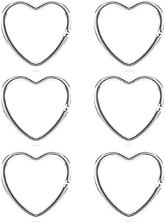 heart ring for daith piercing