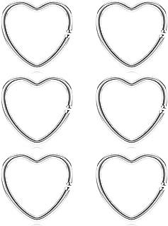 Best heart earring cartilage Reviews