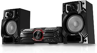 Panasonic SC-AKX320 Extreme Power Smart Mini Hi-Fi Bluetooth Sound System with DJ Jukebox/MAX Juke App