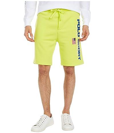 Polo Ralph Lauren Fleece Shorts (Bright Pear) Men