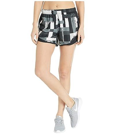 Nike Tempo Shorts Geo Print (Black/Black/Grey) Women
