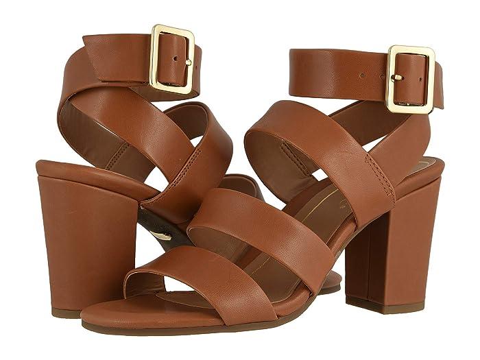 VIONIC  Blaire (Tan/Gold Natural Metallic) Womens Shoes