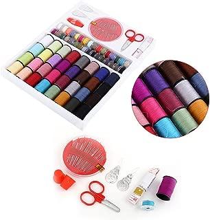 Sewing Kit Measure Tap Scissors Thimble Thread Needle Set Home Use Tools